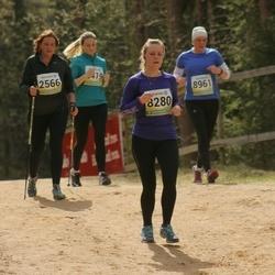 35. Tartu Jooksumaraton - Piret Käo (2566), Agnes Raudam (8280)