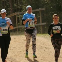 35. Tartu Jooksumaraton - Age Kala (8177), Merje Valtin (8180), Liina Laks (8660)