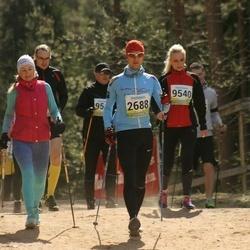 35. Tartu Jooksumaraton - Aarne Tiit (2688), Reelika Palu (9540)