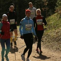 35. Tartu Jooksumaraton - Aarne Tiit (2688), Igors Vasiljevs (8432), Terje Lehes (9458), Reelika Palu (9540)