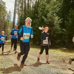 35. Tartu Jooksumaraton - Kerttu Olesk (2620), Aare Tinn (8725)