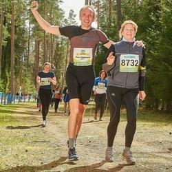 35. Tartu Jooksumaraton - Rain Vellerind (8011), Anneli Vellerind (8732)