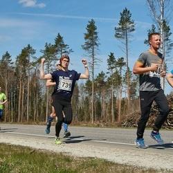 V Rapla Selveri Suurjooks - Einar Hillep (156), Siim Ojakõiv (448), Jaak Vaabel (739)