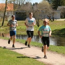 V Rapla Selveri Suurjooks - Robert Rokk (2408), Caspar Varblane (2506), Mari Metsaäär (2598)