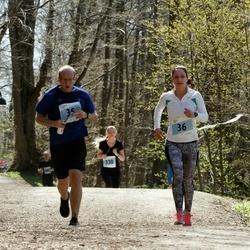 MyFitness Viimsi Jooks - Silver Ott (35), Evelin Reinhold (36)