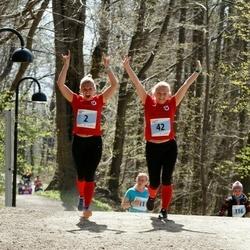 MyFitness Viimsi Jooks - Erle Meresmaa (2), Kairi Ennok (42)