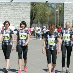 SEB Maijooks - Kersti Poopuu (376), Piia Talu (379), Anu Talu (1121), Monika Kubja (1395)