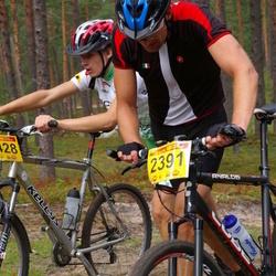 12. Jõulumäe Rattamaraton - Ando Noormets (2391), Sander Sabre (2428)