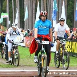 SEB 11. Tartu Rattamaraton - Kalju Hanni (2241), Taavi Palu (4978), Aaro Tralla (5568)