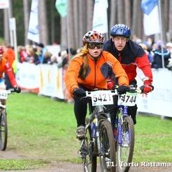 SEB 11. Tartu Rattamaraton - Ints Shteinbergs (474), Ance Janevica (5421)