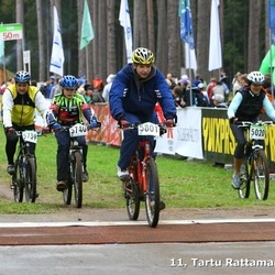 SEB 11. Tartu Rattamaraton - Anu Ruuven (5020), Ain Ross (5348), Armand Kaber (5739), Karl-Armand Kaber (5740), Reimo Sivren (5801)