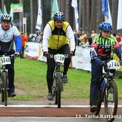 SEB 11. Tartu Rattamaraton - Ain Ross (5348), Armand Kaber (5739), Karl-Armand Kaber (5740)