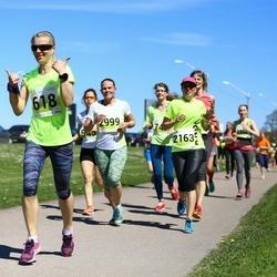 SEB Maijooks - Ami Timm (618), Nele Loorents (2163), Anne Toomsalu (2999)