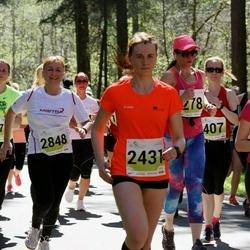 SEB Maijooks - Agnes Salujärv-Kreem (2431), Laidi Aruvel (2848)