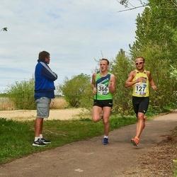 46. jooks ümber Harku järve - Janar Juhkov (127), Madis Mets (366)