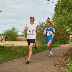 46. jooks ümber Harku järve - Kaidar Hussar (100), Priit Kingo (207)