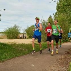 46. jooks ümber Harku järve - Margus Klaan (218), Raigo Saar (572)