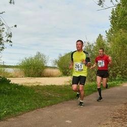 46. jooks ümber Harku järve - Raimo Kurg (261), Margus Muld (381)