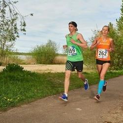 46. jooks ümber Harku järve - Minna Kuslap (262), Daniel Michael Tikva (659)