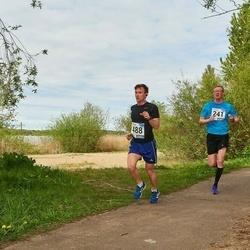 46. jooks ümber Harku järve - Reimo Krass (241), Sten Pisang (488)