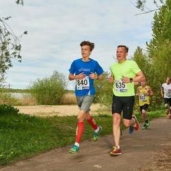46. jooks ümber Harku järve - Erik Zavadskis (635), Markus Kivistik (840)