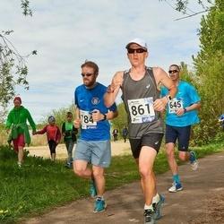 46. jooks ümber Harku järve - Kristjan Saar (784), Eero Kookla (861)