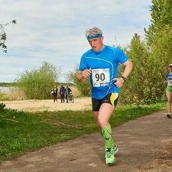 46. jooks ümber Harku järve - Einar Hillep (90)