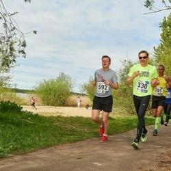 46. jooks ümber Harku järve - Vahur Luts (330), Olle Selliov (592)