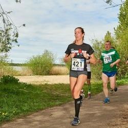 46. jooks ümber Harku järve - Piret Närep (421)