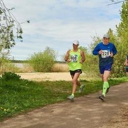46. jooks ümber Harku järve - Ilmar Koolmeister (228), Marko Salumaa (808)