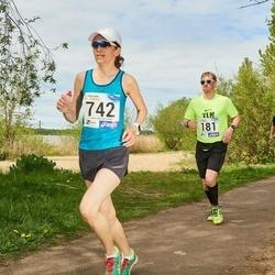 46. jooks ümber Harku järve - Andri Karma (181), Anu Veermets (742)