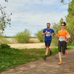 46. jooks ümber Harku järve - Edit Kannel (172), Toomas Talviste (638)