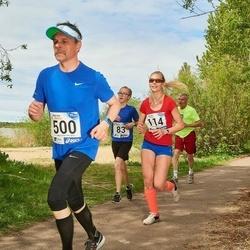 46. jooks ümber Harku järve - Merle Jeets (114), Lauri Preimann (500)