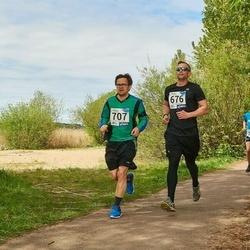 46. jooks ümber Harku järve - Tevo Topaasia (676), Ülar Vaadumäe (707)