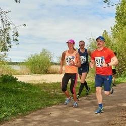 46. jooks ümber Harku järve - Silja Scheer (587), Risto Eelmaa (810)