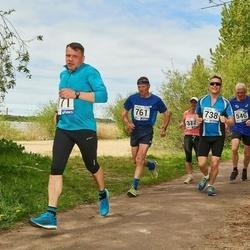 46. jooks ümber Harku järve - Toomas Vavilov (738), Urmas Virkebau (761)