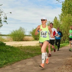 46. jooks ümber Harku järve - Marika Roopärg (548)