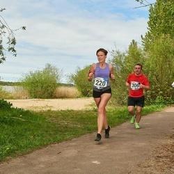 46. jooks ümber Harku järve - Helin Kliimann (220), Andreas Leznevsky (306)