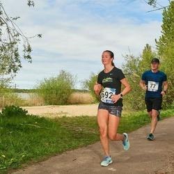 46. jooks ümber Harku järve - Üllar Gustavson (77), Sigrid Tuisk (692)