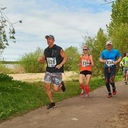 46. jooks ümber Harku järve - Evelin Kose (234), Marko Suurorg (628), Kaimar Normann (838)