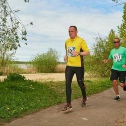 46. jooks ümber Harku järve - Raimo Oinus (423), Argo Põldoja (511)