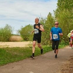 46. jooks ümber Harku järve - Indrek Siilaberg (597), Jüri Vaikma (828)