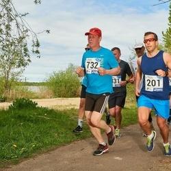 46. jooks ümber Harku järve - Tarmo Kiivit (201), Evert Varblas (732)