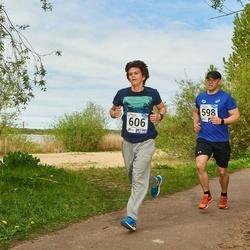 46. jooks ümber Harku järve - Günther Siimenson (598), Mauri Sinimägi (606)
