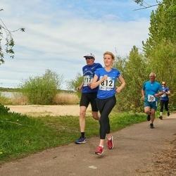 46. jooks ümber Harku järve - Hillar Vainjärv (717), Kristina Dzjuba (812)