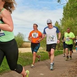 46. jooks ümber Harku järve - Signe Haug (82), Aleksandr Kardakov (178)