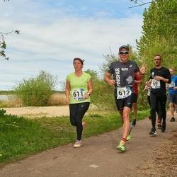 46. jooks ümber Harku järve - Sven Ersling (69), Irina Soolate (611), Fred Sooläte (612)