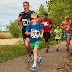 46. jooks ümber Harku järve - Roland Kingo (208), Allan Lahe (287)
