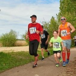 46. jooks ümber Harku järve - Karl Jakob Jakobi (108), Ranne Jakobi (109), Reigo Väli (771)