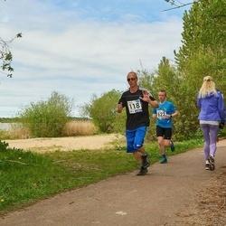 46. jooks ümber Harku järve - Riho Jesse (118), Raul Sulu (622)